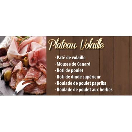 Plateau Charcuterie Volaille