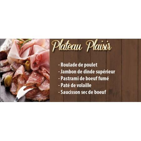 Plateau Charcuterie Plaisir