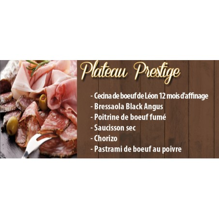 Plateau Charcuterie Prestige