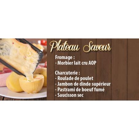 Plateau Raclette Saveur