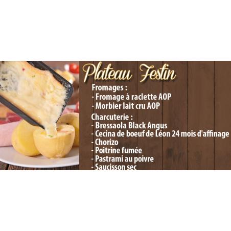 Plateau Raclette Festin